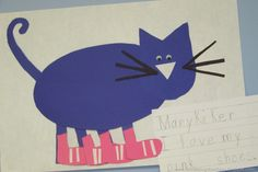 Doing a 'Pete the Cat' unit in the near future... adorable!