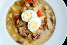 Polish Easter Soup by @thedomesticman (sub sour cream for coconut milk)