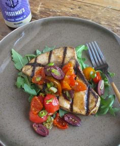 Grilled Swordfish with Tomato, Olive, and Peppadew Chutney | Tessemae's All Natural