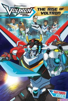 """Read """"The Rise of Voltron"""" by Cala Spinner available from Rakuten Kobo. Discover the origin of Voltron, the universe's greatest defender, in this collectable chapter book retelling of the hott. Voltron Cosplay, Voltron Fanart, Gundam, Form Voltron, Blue Lion, Dreamworks Animation, Chapter Books, The Last Airbender, Power Rangers"""
