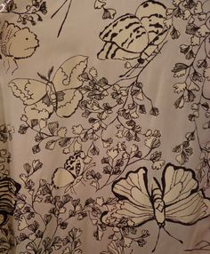 Vintage Dress 1960's Black and White Print by EadoVintage on Etsy, $50.00