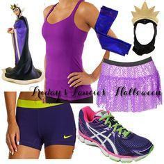 Idea for Wine & Dine - Evil Queen running costume! #rundisney #run #costume