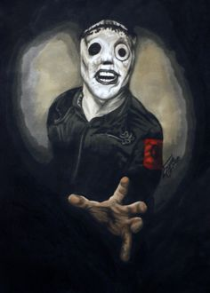 Painting of Corey Taylor/#8.