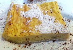 Un dolce semplicissimo da preparare e guarnito con una crema di ricotta al Moscato