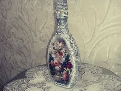 •● Декор бутылки ●• Altered Art Bottle ●• DIY •● - YouTube