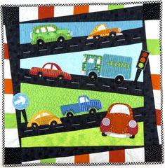 Hot Cars quilt pattern by Hot Possum (Australia)