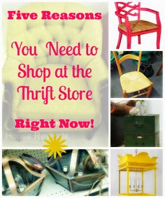 House Revivals: Five Reasons to Shop at a Thrift Store Right Now