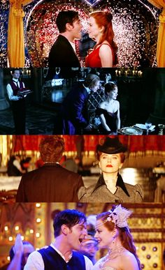 Movie stills from Moulin Rouge!