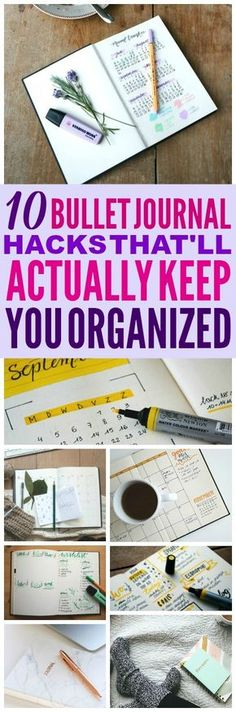 These bullet journal ideas are THE BEST! I'm so glad I found these AMAZING bullet journal tips! Now I have some great ways to keep organized! #bulletjournal #bulletjournalideas #lifehacks #homehacks #bulletjournalfuturelogs