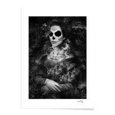 Amazon.com Art: Dark mona : Archival Digital : Nicolas OBERY
