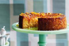 Photo: Gluten-free Persian orange and almond cake recipe The Lebanese Recipes Kitchen (The home of delicious Lebanese Recipes and Middle . Almond Recipes, Baking Recipes, Cake Recipes, Dessert Recipes, Gluten Free Cakes, Gluten Free Baking, Gluten Free Desserts, Food Cakes, Flourless Orange Cake