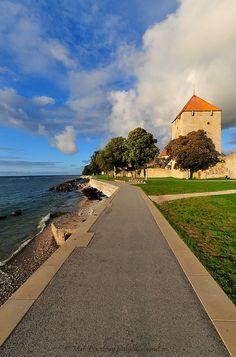 Visby Promenade, Gotland by nikkorglass, via Flickr