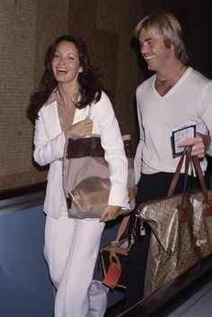 Jaclyn Smith and Dennis Cole circa 1980