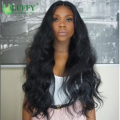 105.40$  Buy now - http://alibcb.worldwells.pw/go.php?t=32600855597 - 10A Unprocessed Peruvian Full Lace Wig With Baby Hair Body Wave Glueless Lace Front Human Hair Wigs Black Women Lace Frontal Wig 105.40$