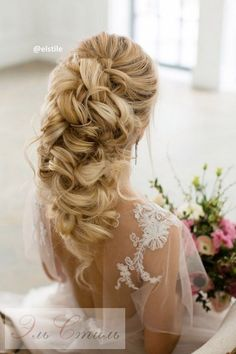 Elstile Long Wedding Hairstyle Ideas 18