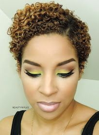 Short Curly Hairstyles for Black Women - Food - Hair Designs Twa Hairstyles, Short Hairstyles For Women, Natural Hairstyles, Black Hairstyles, Simple Hairstyles, Hairstyle Ideas, Haircuts, Short Curly Hair, Short Hair Cuts