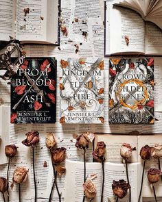 Happy Friday!! . What is a book you cant wait to get/read? . I am sooo eager for #thecrownofgildedbones by @jennifer_l_armentrout . Have you read #frombloodandash yet? . Note- I photoshopped TCoGB into the picture . . . Hashtags #bibliophile #bookcommunity #bookstagram #bookblogger #booksandcoffee #bookaesthetic #bookphotography #booksandflowers #cosy #cozyvibes #cottagecore #bibliophilelife #amreading #darkacademia #bookpost #booksbooksbooks #fantasybooks #romancebooks #vintagestyle #forthelov Book Instagram, Get Reading, Personal Library, Studyblr, Book Aesthetic, Fantasy Books, Book Photography, Romance Books, Bibliophile