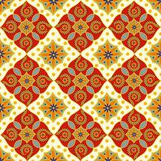 Festive Medallion (updated) fabric by cksstudio80 on Spoonflower - custom fabric