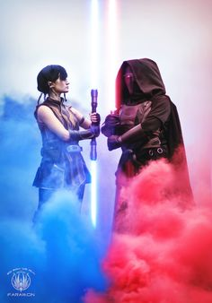 Star Wars The Old Republic - Satele Shan and Darth Revan