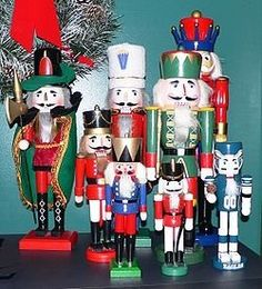 Nutcrackers are popular Christmas decorations mainly due to the famous ballet,The Nutcracker Suite which is often performed during this holiday...