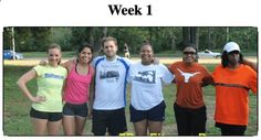 Week 1 of Fat Diminisher Workout Camp