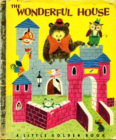 little golden book houses - Google Search