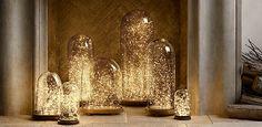 bell jars & light - RH