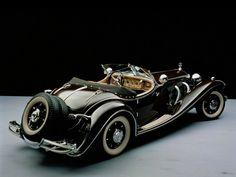 Mercedes-Benz 500K Roadster, 1934