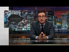 Last Week Tonight with John Oliver: Fashion (HBO)\\\ Business ethics, fast fashion, and consumer choices! Watch it, laugh, and then ponder. Fast Fashion, Slow Fashion, Cheap Fashion, Ethical Fashion, Fashion Online, Last Week Tonight, John Oliver, Ethical Shopping, Fair Trade Fashion