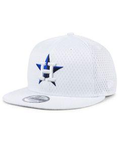 67b0a3a56592d Houston Astros Batting Practice Mesh 9FIFTY Snapback Cap