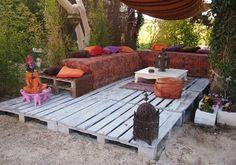 goedkoop terras van paletten