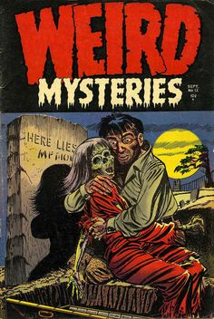 Staff Picks for February 2016 - The Complete Wimmen's Comix, Bart Simpson, Haunted Love, Wynonna Earp, Mezolith and The Ark – Broken Frontier Vintage Poster, Vintage Comic Books, Vintage Comics, Comic Books Art, Comic Art, Sci Fi Comics, Horror Comics, Arte Horror, Horror Art