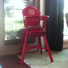 old high chair ideas milano office chairs zimbabwe 47 best images wood wooden that needed some color found at an antique store for
