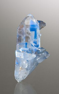 Papagoite included in Quartz; Messina Mine, Messina District, South Africa
