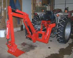 "Gallery - Category: Customers Pics: The ""Micro Hoe"" for small tractors Small Tractors, Compact Tractors, Old Tractors, Compact Tractor Attachments, Garden Tractor Attachments, Atv Attachments, John Deere Garden Tractors, Lawn Mower Maintenance, Homemade Tractor"