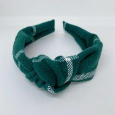 Bow Headbands, Knot Headband, Emerald Green Jumpsuit, Blue Bow, Hair Accessories For Women, Woven Cotton, Green Hair, Headband Hairstyles, Young Children