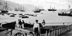 Bahía de Santa Cruz a principios del siglo XX