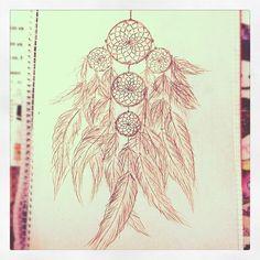 Pin Tumblr Dreamcatcher Dream Catcher Indian Tattoo On Pinterest