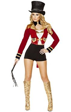 The Traditions and Evolution of Halloween Costumes. circus ring mistress costume