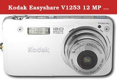 Kodak Easyshare V1253 12 MP Digital Camera with 3 xOptical Zoom (White). Whether you seize the moment with incredibly sharp 12 megapixel photos, or in motion with crisp videos, you can do it all with the KODAK EASYSHARE V1253 Zoom Digital Camera. Enjoying beautiful pictures with amazing quality is as simple as using the KODAK EASYSHARE V1253 Zoom Digital Camera.Package Contents - KODAK EASYSHARE V1253 Zoom Digital Camera; KODAK Li-Ion Rechargeable Digital Camera Battery KLIC-7004; Camera...