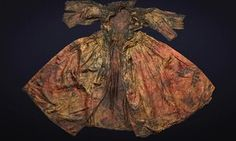 The 17th century silk dress found perfectly preserved in a shipwreck