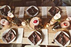 Woodsy Thanksgiving Dinner // photo by Almond Leaf Studios http://ruffledblog.com/thanksgiving-dinner/