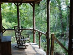 The Edisto River Treehouses in South Carolina are only accessible via a 13-mile canoe trek