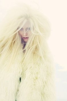 Sea Lion Woman by Nadia Moro on Behance Fashion Photography Snow Queen, Ice Queen, Indie, Capellini, Ice Princess, Shades Of Yellow, Mellow Yellow, Costume, Designer
