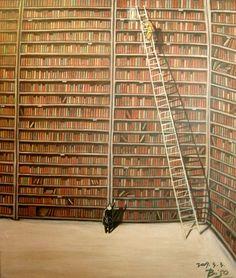 marvelous image via bibliolectors: Difficult choice / Difícil elección (Jeong, Jong-Hae)