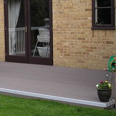 WPC floor easy to install, easy to maintain #wpc #wpcdeck #decking #outdoordecking #floor #outdoorflooring