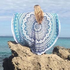 Round Boho Mandala Tapestries have been our greatest picnic and beach companions.