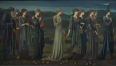 "Pre Raphaelite Art: Edward Burne-Jones, ""Psyche's Wedding"" (1895)"