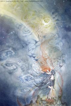Stephanie Pui-Mun Law - Dreamdance Oracle : The Storm (A new oracle deck coming soon!)