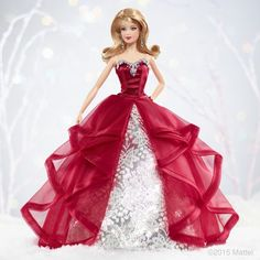 Barbie Clothes Patterns, Doll Clothes Barbie, Doll Dress Patterns, Barbie Wedding Dress, Barbie Gowns, Barbie Dress, Barbie Barbie, Barbie Fashionista Dolls, Christmas Barbie